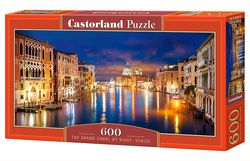 Puzzle 600 el The Grand Canal by Night Venice
